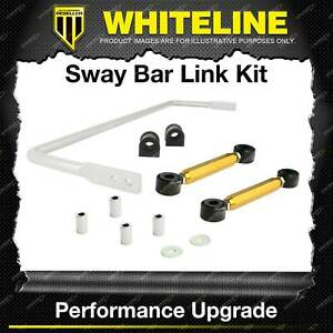 Whiteline Rear 18mm Sway Bar + Link Kit for Holden Commodore VT VX VU VY VZ