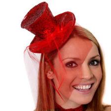 Mini Sombrero De Copa Para Adulto Hen noche Head Band Damas Burlesque Navidad Elaborado Vestido