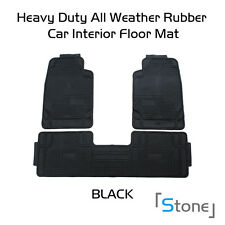 Car Floor Mats for All Weather Rubber Chevrolet Fit Heavy Duty Black Snow Proof