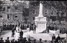 Boston War Memorial Unveiling by The Earl of Yarborough.