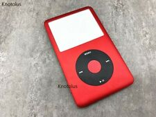 red front housing case cover black clickwheel fr iPod 6th gen classic 80gb 120gb