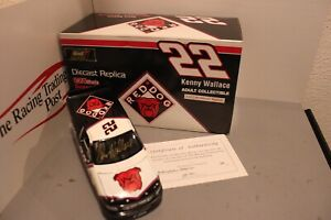 1996 Kenny Wallace Red Dog Truck 1/24 Revell NASCAR Diecast Autographed