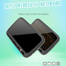 H18+ Mini Wireless Keyboard Full Touchpad 2.4G Backlit for Android TV BOX PC