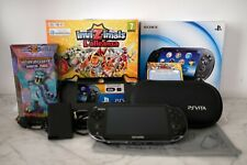 PS VITA CONSOLE + INVIZIMALS + CASE + GRIP + MEMORY 4GB SONY PLAYSTATION VITA