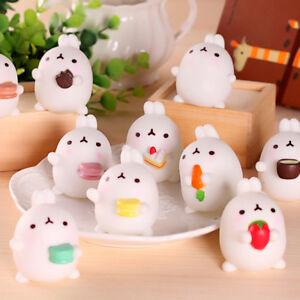 Soft Mochi Rabbit Squishy Healing Squeeze Fun Kid Toy Gift Stress Reliever Decor