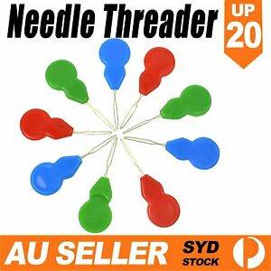 5 to 20PCS Easy Needle Threader Stronger Than Other Plastic Brands Bow Wire Hand