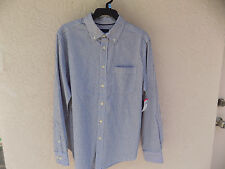 BASIC EDITIONS STRIPED DRESS SHIRT- SIZE 4XL FAST FREE SHIPPING