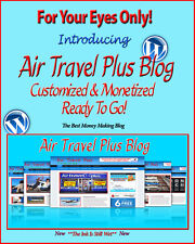 Air Travel Plus Blog Self Updating Website - Clickbank Amazon Adsense & Lot More