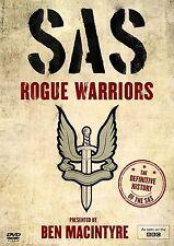 SAS ROGUE WARRIORS Ben Macintyre DVD Documentario in Inglese NEW .cp