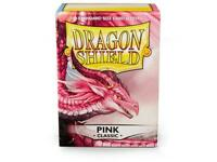 Pink Classic 100 ct Dragon Shield Sleeves Standard Size FREE SHIPPING 10% OFF 2+