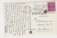 United States 1954 Give Mental Health Fund Slogan NY Cancel Stamps Card ref22268