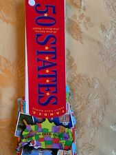 Fandex Pocket 50 States Capitals Geography Classroom Home School Fun Facts