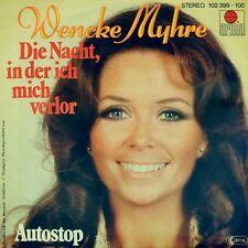 "7"" Wencke Myhre la notte in cui mi ha perso/autostop Anna Vissi Ariola 1980"