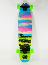 "Riviera 9.5"" x 40"" Glass Off Longboard Cruiser Complete 180mm Trucks 70mm Wheels"
