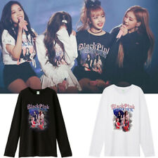 Kpop BLACKPINK Forever Young Concert LONG SLEEVE T-SHIRT Cotton TSHIRT TEE