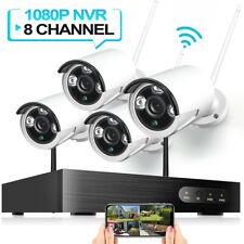 HeimVision Full 1080P 8Ch Nvr Wireless Security Ip Camera System Night Vision Us