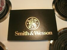 Smith & Wesson Pistol Revolver Store Display Case Padded Folder
