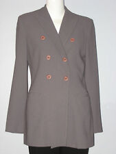 LOUBEN Size 6 Purple Double Breasted Fully Lined Blazer (Made in Canada)