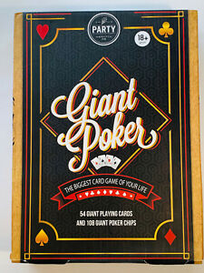 Giant Poker ~ The Biggest Card Game of your Life
