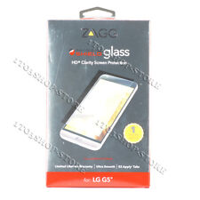 Zagg Invisible Shield HD Clarity Clear Tempered Glass Screen Protector For LG G5