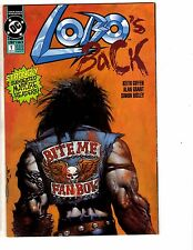 Lot Of 2 Lobo DC Comic Books Infanticide & Back # 1 Issues VF/NM Batman J222