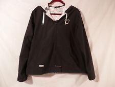 Disney Parks Wind breaker Mickey Mouse Hooded Jacket  Zipper XL Woman's