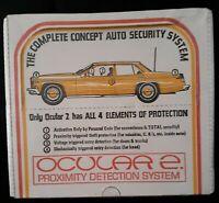 Ocular 2 Model OC 2116 Proximity Detection Auto Alarm System New/Sealed 50% OFF!