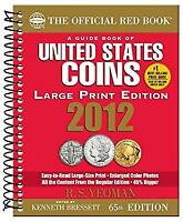 Guide Book of United States Coins 2012 LP Mass Market Paperbound R. S. Yeoman