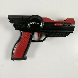 VENOM For PS3 PS4 PlayStation Move Motion Controller Gun Attachment  Black & Red