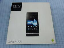 Sony Xperia U St25i 4GB Schwarz! Ohne Simlock! Neu! TOP ZUSTAND! OVP! RAR!