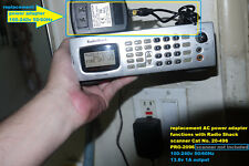 AC Power Supply for Radio Shack scanner PRO-2096 PRO-2055