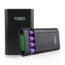 10400mAh LCD External Battery Power Bank 18650 Battery Charger Box with 2-Por...