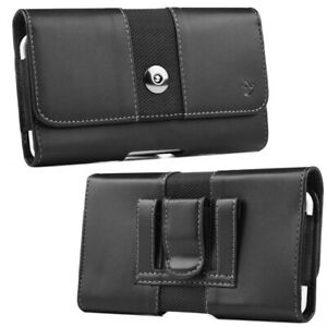 Black Luxmo Belt Clip Loop Mens Pouch Holster Phone Holder Business USA