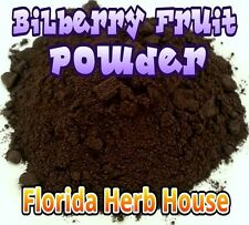 Bilberry Powder - All Natural - Freeze Dried - 8 oz (1/2 lb) - OUR BEST!