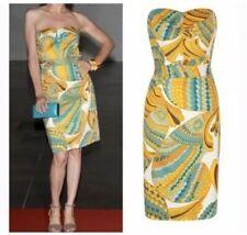 Banana Republic Trina Turk Pisces Cora Strapless Resort Dress Size 8
