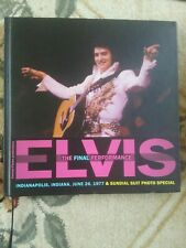 ELVIS THE FINAL PERFORMANCE INDIANAPOLIS INDIANA JUNE 26 1977