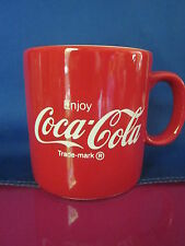 Coca Cola red Mug England