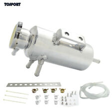 0.4Ltr Aluminum Breather Catch Tank Overflow Tank For Honda Toyota BMW Nissan