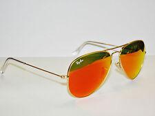 RAY BAN sunglasses 3025 Rayban 112/69 Gold 55 ORANGE Mirror AVIATORS Free s/h!