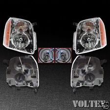 2007-2010 GMC Yukon XL 1500 2500 Headlight Lamp Clear lens Yukon Halogen Pair