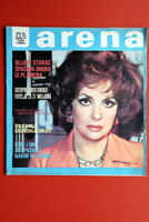 GINA LOLLOBRIGIDA ON UNIQUE COVER 1973 EXYU MAGAZINE