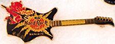 Hard Rock Cafe BANGKOK 1998 HALLOWEEN PIN Red Imp on BLACK Guitar - HRC #955