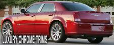 Chrysler 300 300C Stainless Chrome Pillar Posts by Luxury Trims 2005-2010 (6pcs)