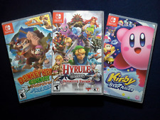 Donkey Kong Country:Tropical Freeze,Kirby Star Allies & Hyrule Warriors (New)
