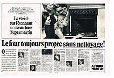 Publicité Advertising 1970 (2 pages) Le Four Arthur Martin