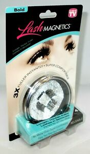 AS SEEN ON TV Lash Magnets BOLD 3x Fuller Instantly Reusable No Glue NIP