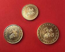 10+20+50 Cent MONACO 2001 - Erstprägung - Euromünzen aus Euro-Starterkit  #2_1