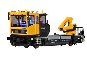 Viessmann 2610 Spur H0 ROBEL Gleiskraftwagen 54.22, Funktionsmodell für Zweileit