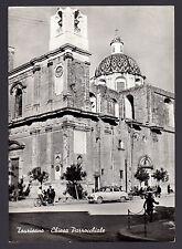 TAURISANO LECCE CARTOLINA CHIESA PARROCCHIALE FG VG 1958 - ED. MICALETTO