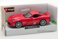2013 SRT Viper GTS, Bburago 18-43033, scale 1:32,toy gift model boy